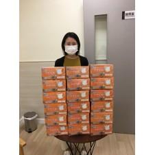 First Beaute donated disposable face masks to Hong Kong Family Welfare Society and Hong Kong Christian Service.