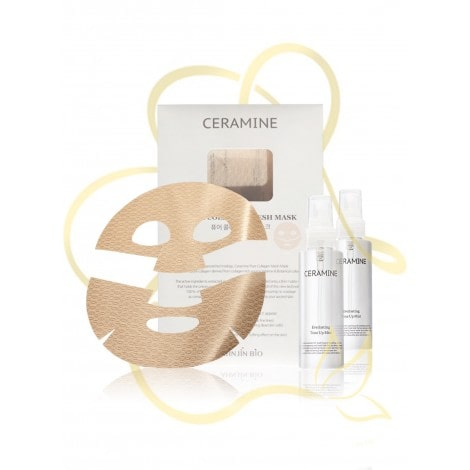 Ceramine Pure Collagen Mesh Mask Set